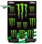 Лист наклеек Factory Effex Monster Energy
