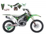 Комплект наклеек KXF450 12-15 Monster Energy 2015