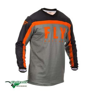 Джерси Fly F-16 Grey/Black/Orange