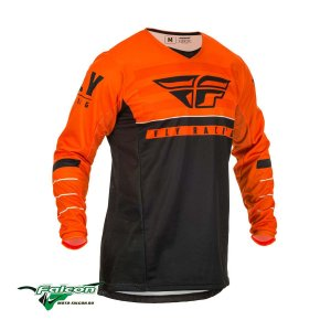 Джерси Fly Kinetic K120 Orange/Black/White